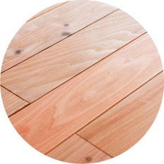 体にやさしい木の床